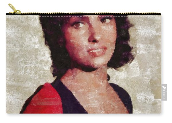 Gina Lollobrigida By Mary Bassett Carry-all Pouch