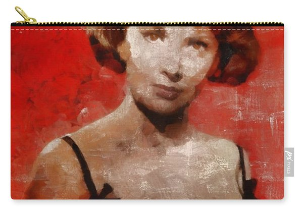 Gina Lollobrigida Hollywood Actress Carry-all Pouch