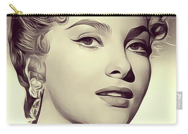 Gina Lollobrigida, Vintage Actress/dancer Carry-all Pouch