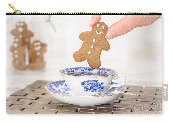 Gingerbread In Teacup Carry-all Pouch