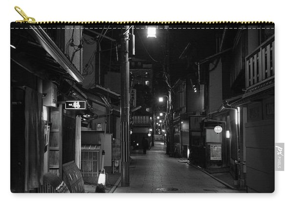 Gion Street Lights, Kyoto Japan Carry-all Pouch