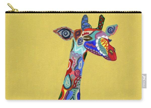 Giraffe Attitude Carry-all Pouch