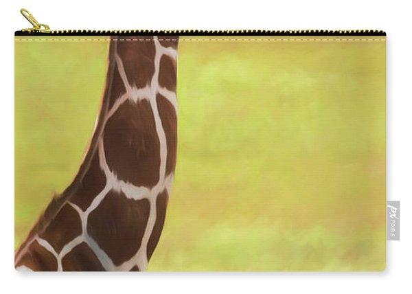 Giraffe - Backward Glance Carry-all Pouch