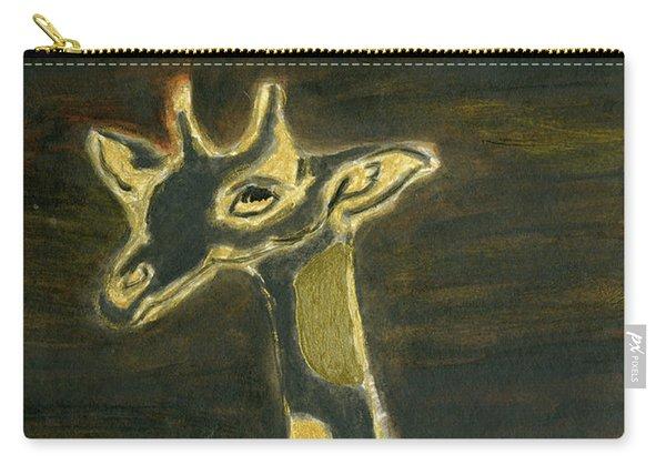 Giraffe Metallica Carry-all Pouch