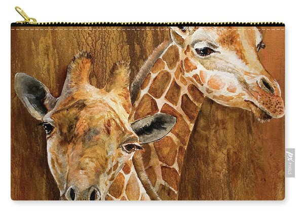 Giraffe Pair Carry-all Pouch