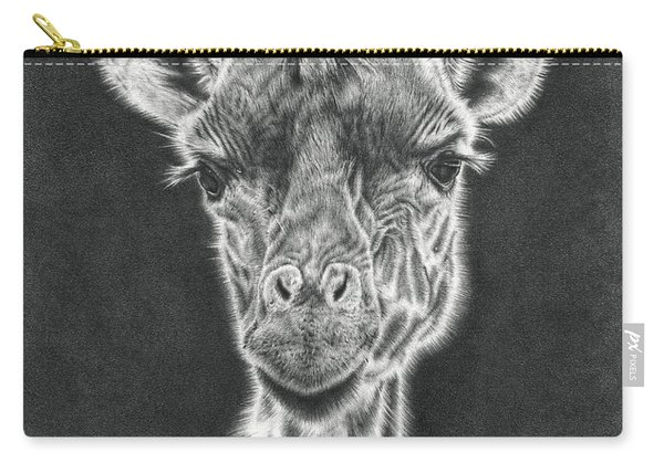 Giraffe Pencil Drawing Carry-all Pouch