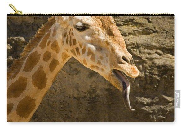 Giraffe Raspberry Carry-all Pouch