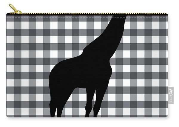 Giraffe Silhouette Carry-all Pouch