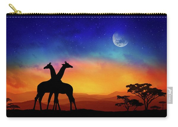 Giraffes Can Dance Carry-all Pouch