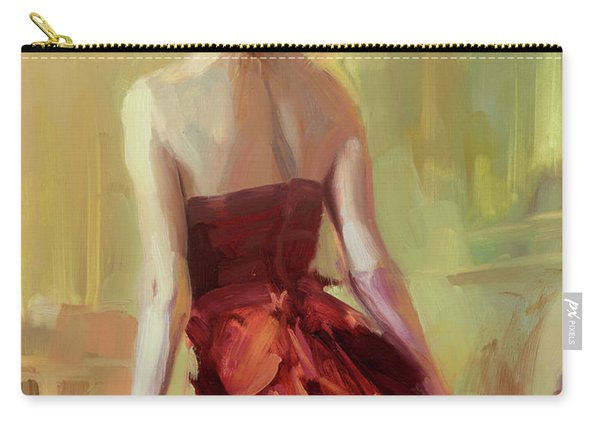 Girl In A Copper Dress I Carry-all Pouch