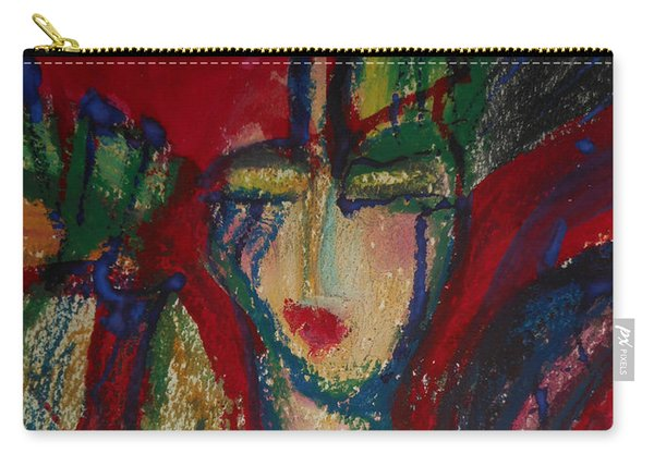 Girl In Darkness Carry-all Pouch