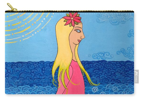 Girl In The Water Carry-all Pouch