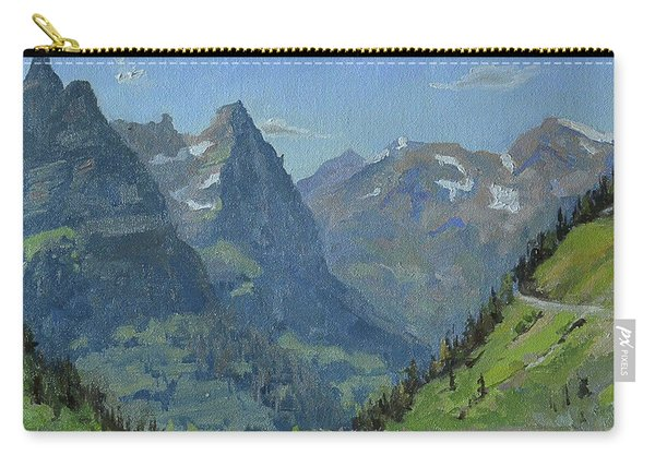 Glacier Afternoon Carry-all Pouch