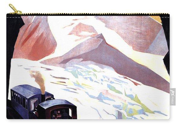 Glacier De Bionnassay, Railway, France Carry-all Pouch