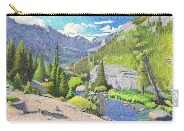Glacier Gorge Carry-all Pouch
