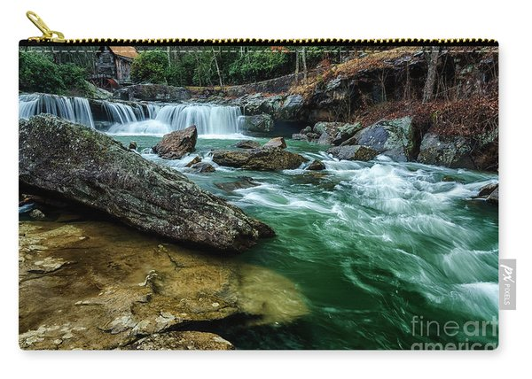 Glade Creek And Grist Mill Carry-all Pouch