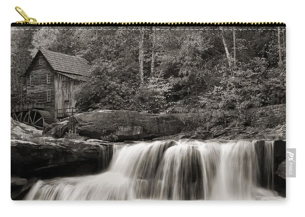 Glade Creek Grist Mill Monochrome Carry-all Pouch