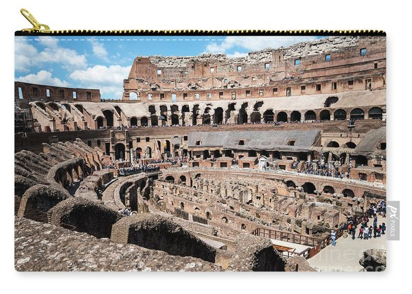 Gladiators And Christians Carry-all Pouch
