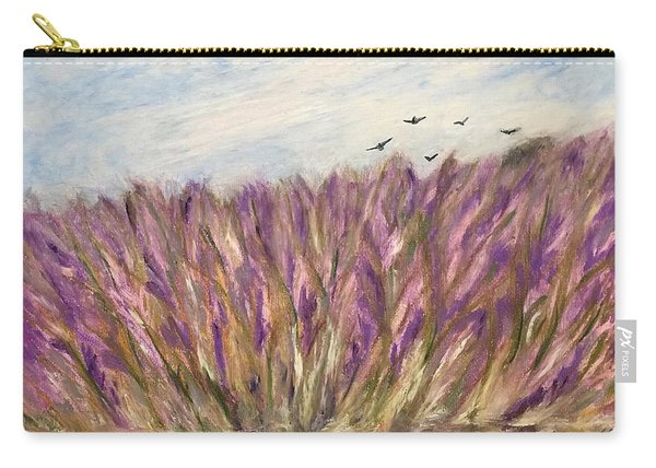 Gladiolus Field Carry-all Pouch