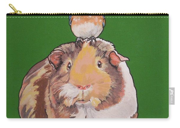 Gladys The Guinea Pig Carry-all Pouch