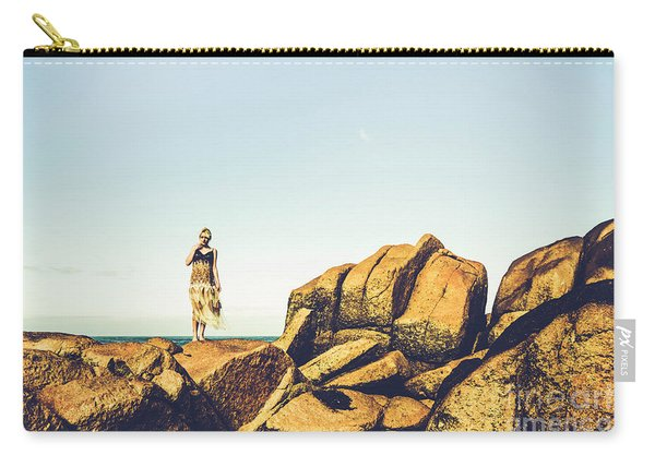 Glamour In Untouched Paradise Carry-all Pouch