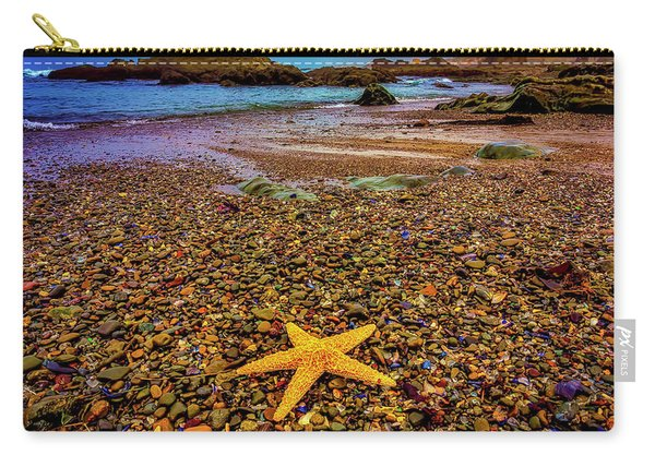 Glass Beach Starfish Carry-all Pouch