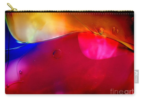 Glass Paint Abstract Dark Carry-all Pouch