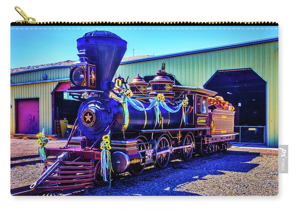 Glenbrook Ginerbread Locomotive Carry-all Pouch