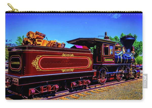 Glenbrook Ginerbread Train Carry-all Pouch