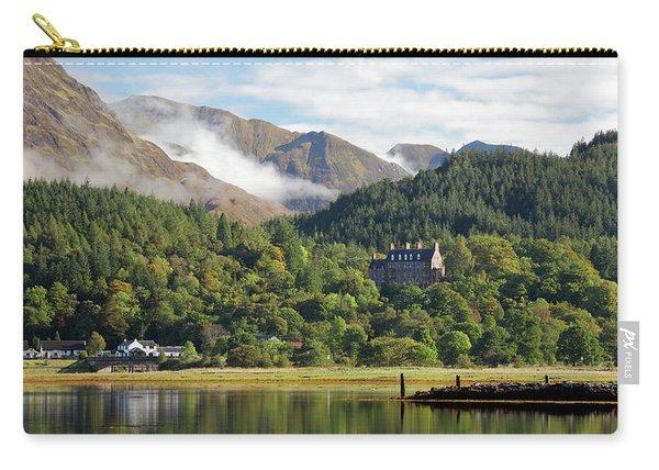 Glencoe House Landscape Carry-all Pouch