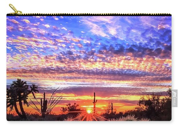 Glimmering Skies Carry-all Pouch