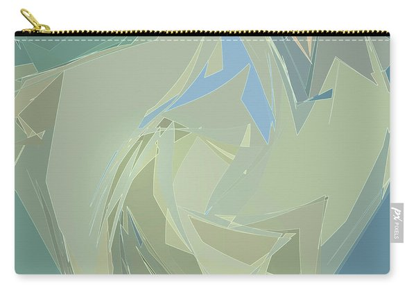 Carry-all Pouch featuring the digital art Glimmers by Gina Harrison