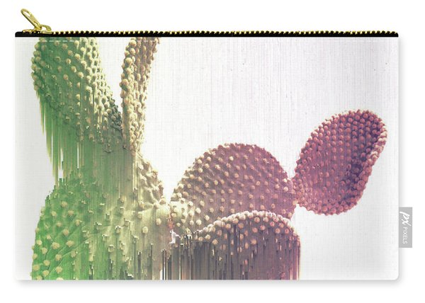 Glitch Cactus Carry-all Pouch