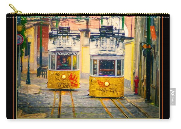 Gloria Funicular Lisboa Poster Carry-all Pouch