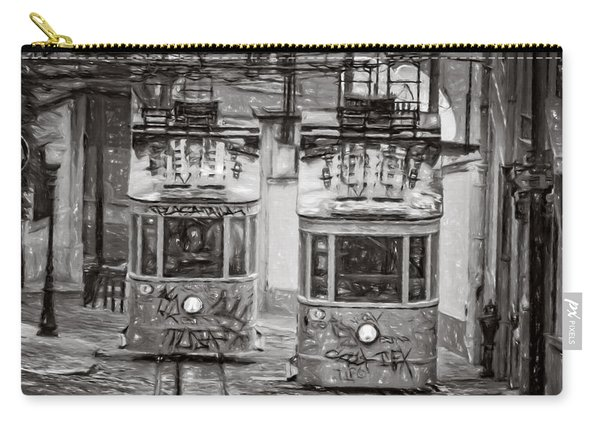 Gloria Funicular Lisbon Bw Carry-all Pouch