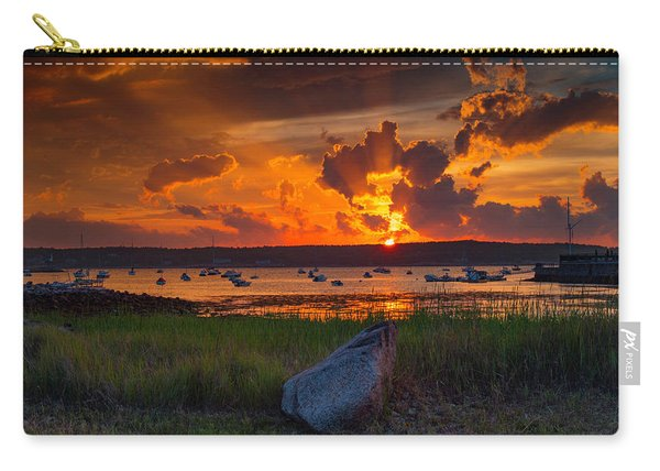 Gloucester Harbor Sunset Carry-all Pouch