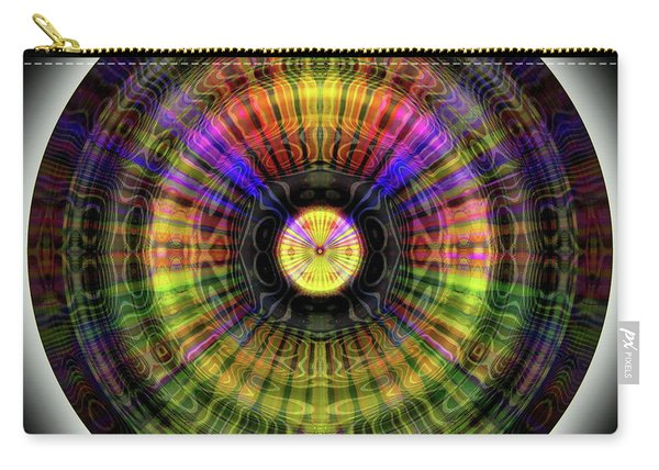 Glow Wheel Eleven Carry-all Pouch