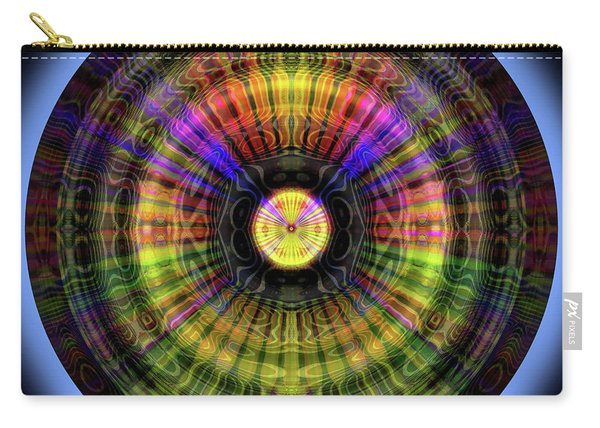 Glow Wheel Twelve Carry-all Pouch