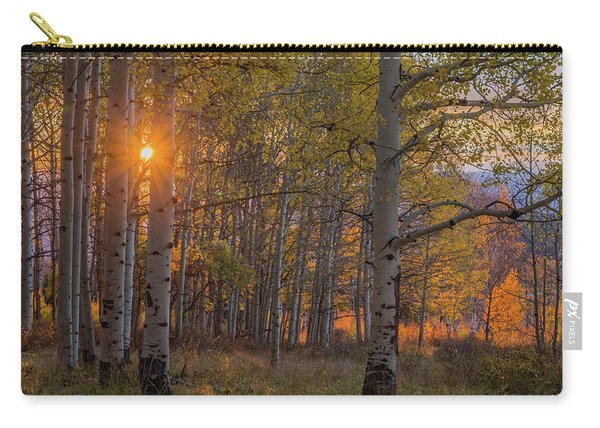 Glowing Aspen, La Sal Mountains Carry-all Pouch