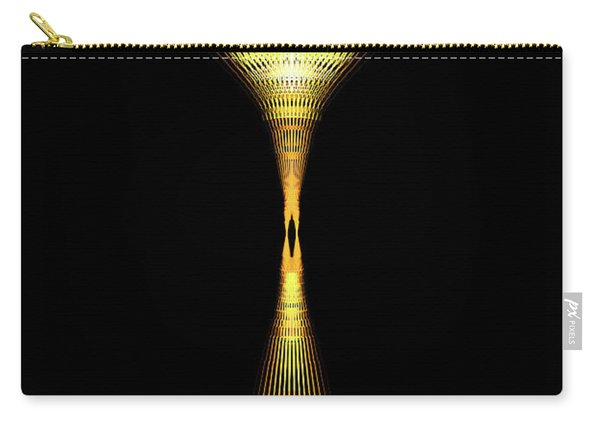 Glowing Brass Lamp Stand Carry-all Pouch