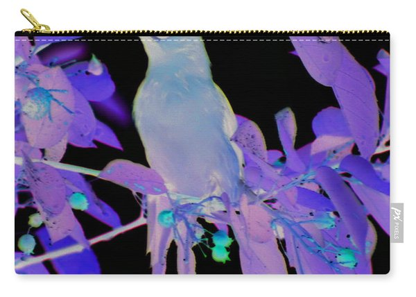 Glowing Cedar Waxwing Carry-all Pouch