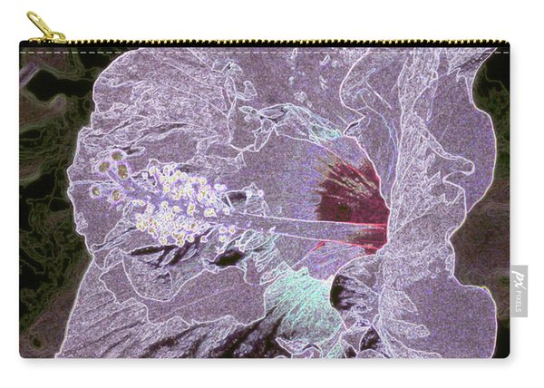 Glowing Hibiscus Carry-all Pouch