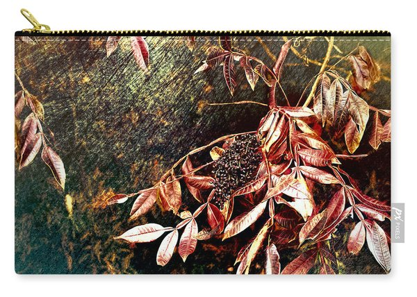 Glowing Sumac With Berries Carry-all Pouch