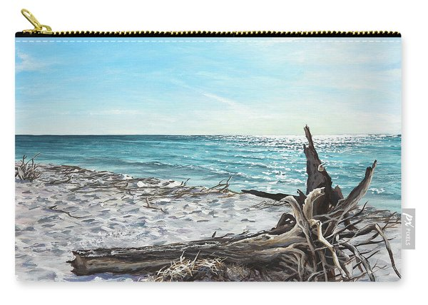Gnarled Drift Wood Carry-all Pouch