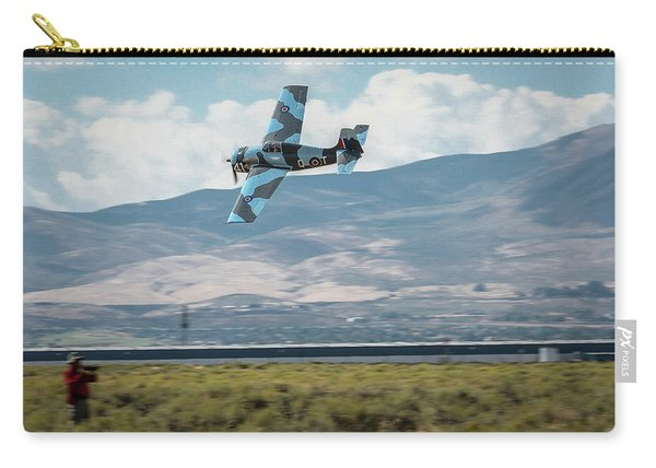 Carry-all Pouch featuring the photograph Go Fast Turn Left Fly Low Friday Morning Unlimited Bronze Class by John King