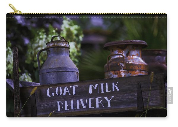 Goat Milk Delivery Carry-all Pouch