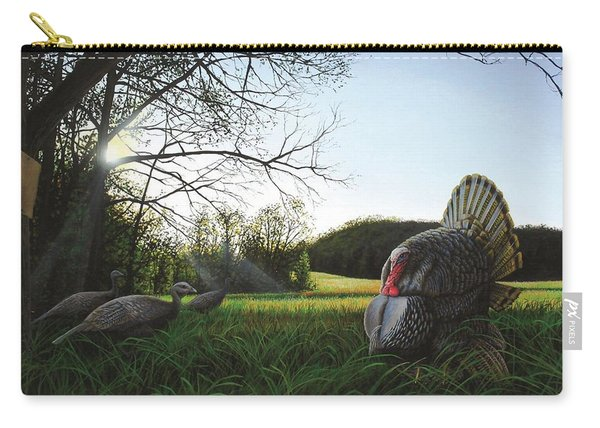 Gobbler's Morning Dance Carry-all Pouch