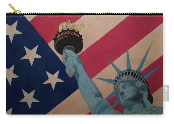 God Bless The Usa Carry-all Pouch