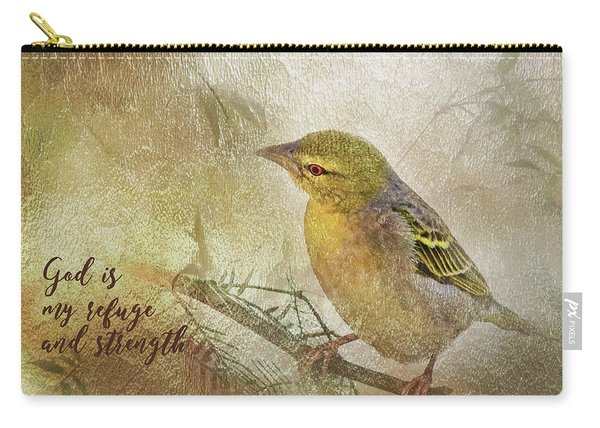 God Is My Refuge Carry-all Pouch