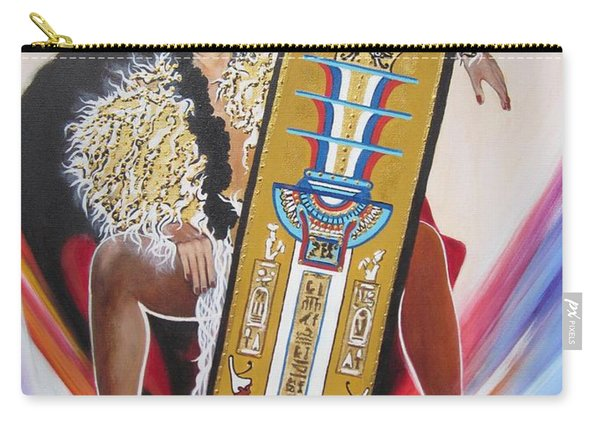 The  Tet Of Osiris Fra Blaa  Kattproduksjoner  Carry-all Pouch